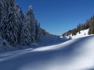 Richtung Biathlonzentrum